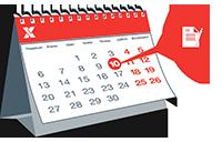 Календар бронювання